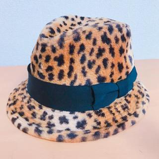 チャビーギャング(CHUBBYGANG)のチャビーギャングCHUBBYGANGヒョウ柄ハット帽子52cm(帽子)