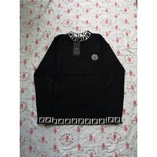 フェンディ(FENDI)のフェンディ セーター 長袖 黒色(ニット/セーター)