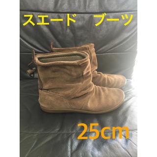 コロンビア(Columbia)のコロンビア スエード レザー ブーツ 25cm(ブーツ)