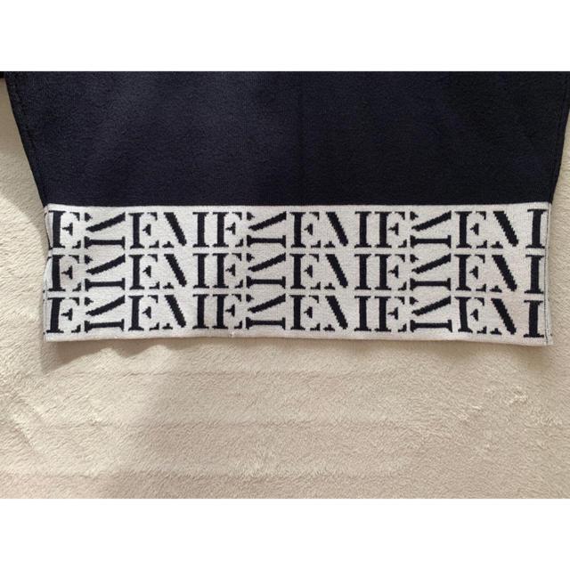 eimy istoire(エイミーイストワール)の最終お値下げ eimyistoire モノグラムニット レディースのトップス(ニット/セーター)の商品写真