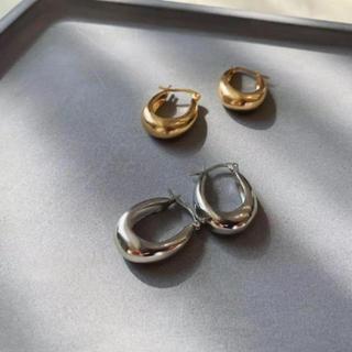 エディットフォールル(EDIT.FOR LULU)の新商品 フープ  シンプル silver925 ピアス(ピアス)