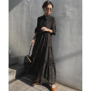 アメリヴィンテージ(Ameri VINTAGE)のAmeri TWINKLE WIDENING DRESS(ロングドレス)