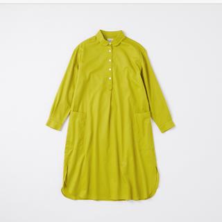 IDEE - 【新品】POOL いろいろの服 コットンツイルシャツワンピース
