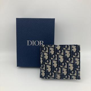 Christian Dior - ディオール Dior オブリーク 折財布 コインケース付き 新品未使用 セール