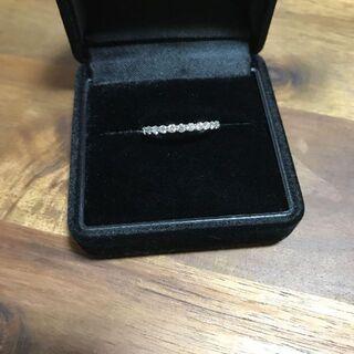 プラチナ エタニティダイヤモンド リング(リング(指輪))
