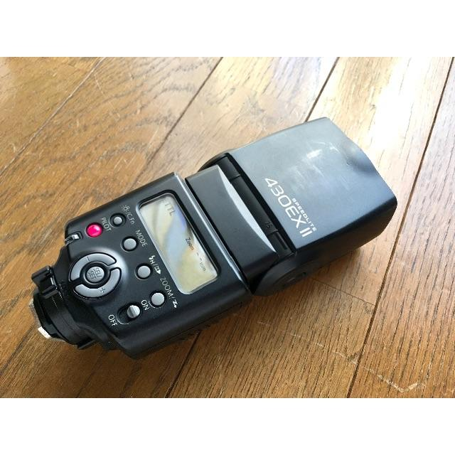 Canon(キヤノン)のCanon 430EXⅡ スピードライト美品 スマホ/家電/カメラのカメラ(ストロボ/照明)の商品写真