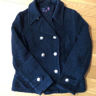 ユナイテッドアローズ(UNITED ARROWS)のユナイテッドアローズピンクレーベル Sサイズ ハーフコート コート ジャケット (テーラードジャケット)