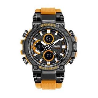 SMAEL 1803 スポーツウォッチ(オレンジ)(腕時計(デジタル))