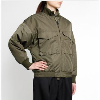 HYKE - HYKE WEPジャケット ミリタリーブルゾン サイズ1
