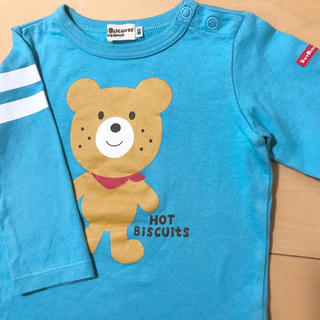 HOT BISCUITS - mikihouse HotBiscuits 長袖 Tシャツ ロンT 80