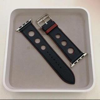 Hermes - 廃盤 正規品 エルメス レザーバンド ラリー Apple Watch 44mm