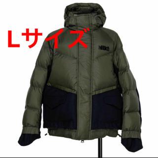 サカイ(sacai)のNike x sacai Men's Parka カーキ ダウン XL(ダウンジャケット)