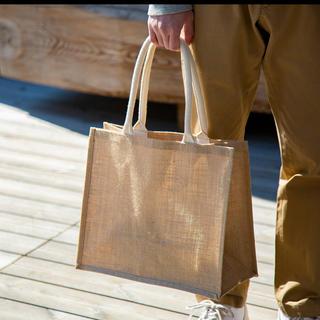 ムジルシリョウヒン(MUJI (無印良品))の無印良品 新品未使用 ジュートマイバック(トートバッグ)