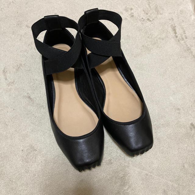 ETRE TOKYO バレエパンプス 38 レディースの靴/シューズ(バレエシューズ)の商品写真