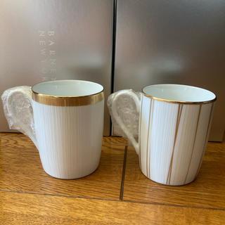 バーニーズニューヨーク(BARNEYS NEW YORK)のバーニーズニューヨーク ノリタケ ペアマグカップ(グラス/カップ)