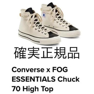 フィアオブゴッド(FEAR OF GOD)のConverse  ESSENTIALS Chuck 70 High Top  (スニーカー)