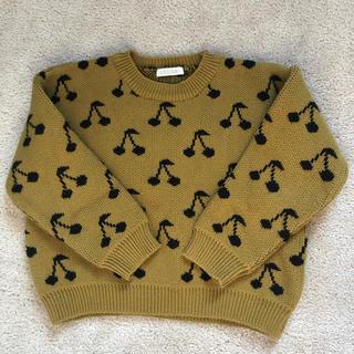 Bonpoint - 美品♡さくらんぼニットセーター