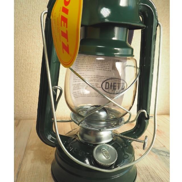 【日本未発売】Dietz 76 グリーン ハリケーンランタン スポーツ/アウトドアのアウトドア(ライト/ランタン)の商品写真