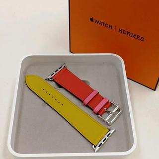 Hermes - 廃盤色 アップルウォッチ HERMES レザーベルト Apple Watch