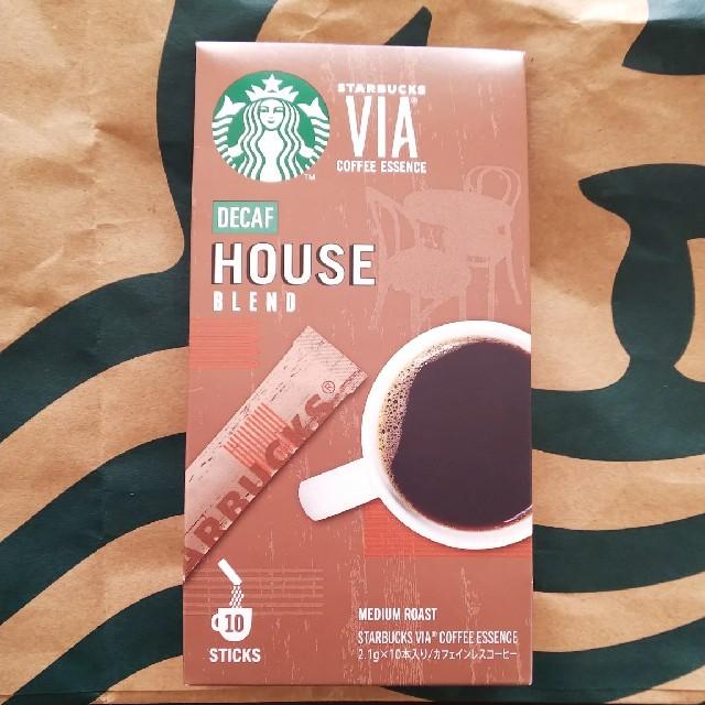 Starbucks Coffee(スターバックスコーヒー)のスターバックス DECAF  ハウスブレンド 食品/飲料/酒の飲料(コーヒー)の商品写真