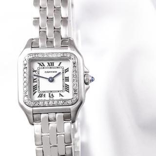 Cartier - 【仕上済】カルティエ パンテール 1重ダイヤ シルバー レディース 腕時計