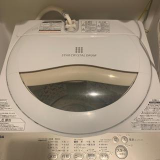 トウシバ(東芝)のTOSHIBA 東芝 洗濯機5キロ(洗濯機)