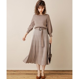 natural couture - naturalcouture ニットワンピース
