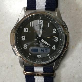 CASIO -  カシオ 腕時計 ウェーブセプター 電波ソーラー WVA-M630B-3AJF