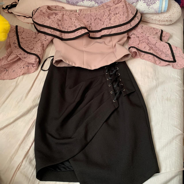 Andy(アンディ)のセットアップドレス レディースのフォーマル/ドレス(ミディアムドレス)の商品写真