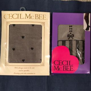 CECIL McBEE - CECIL McBEE セシルマクビー タイツ&ストッキング二足セット