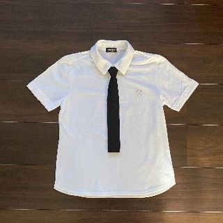 コムサイズム(COMME CA ISM)のコムサイズム 白 シャツ 半袖 150cm(ドレス/フォーマル)