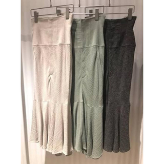 snidel - コットンリネンマーメイドスカート
