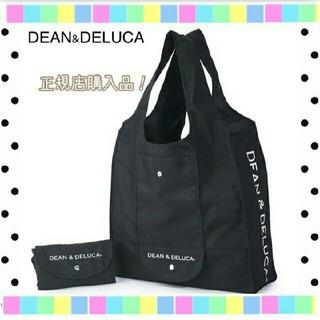 DEAN & DELUCA - ディーンアンドデルーカ ショッピングバッグ エコバッグ ブラック 黒