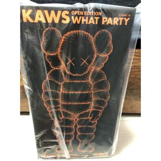 メディコムトイ(MEDICOM TOY)のKAWS What Party Figure オレンジ (その他)