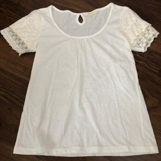 プーラフリーム(pour la frime)の白Tシャツ(Tシャツ(半袖/袖なし))