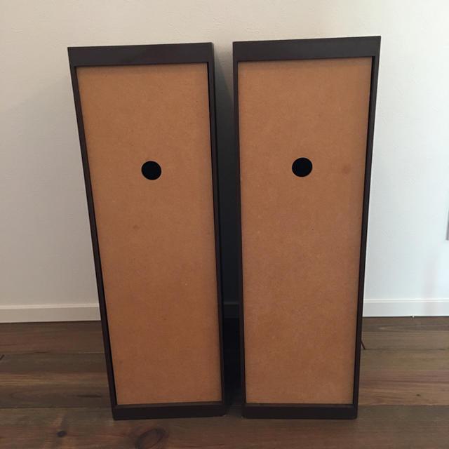 2個セット!ヤマト工芸 DOORS S 木製ブラウンゴミ箱 ダストボックス インテリア/住まい/日用品のインテリア小物(ごみ箱)の商品写真