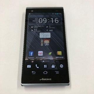 フジツウ(富士通)のsoftbank ARROWS 201F ブラック(スマートフォン本体)