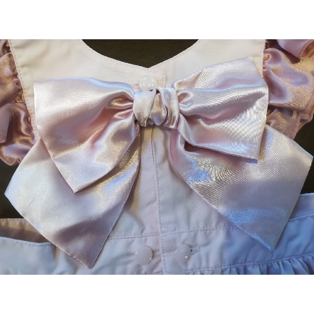 Shirley Temple(シャーリーテンプル)のシャーリーテンプル エプロン キッズ/ベビー/マタニティのキッズ服女の子用(90cm~)(ワンピース)の商品写真