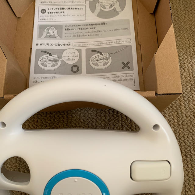 Wii(ウィー)の【中古 良品】マリオカートWii エンタメ/ホビーのゲームソフト/ゲーム機本体(家庭用ゲームソフト)の商品写真