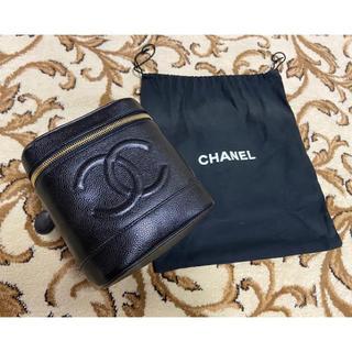 CHANEL - CHANEL◆キャビアスキン ◆バニティ