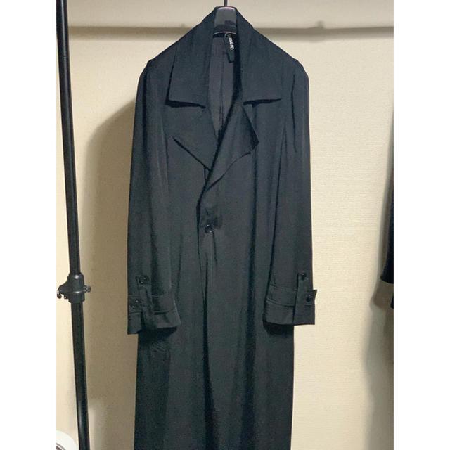Yohji Yamamoto(ヨウジヤマモト)の グラウンドワイGround Y  Double Coat ダブルコート メンズのジャケット/アウター(トレンチコート)の商品写真