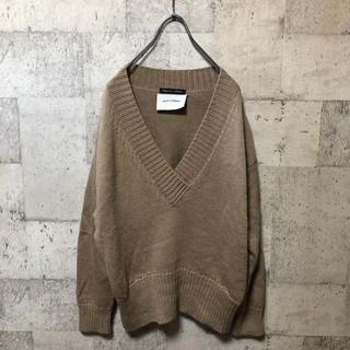 SCOT CLUB - LILLY LYNQUE Vネックニットセーター イタリア製 リリーリン