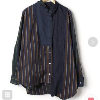 サカイ(sacai)のSacai ストライプシャツ(その他)