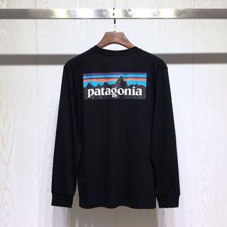 patagonia - 新品値下げ Patagonia ロングTシャツ Mサイズ  ブラック