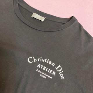 クリスチャンディオール(Christian Dior)の値下げ!クリスチャンディオール ChristianDIOR Tシャツ黒 メンズL(Tシャツ/カットソー(半袖/袖なし))