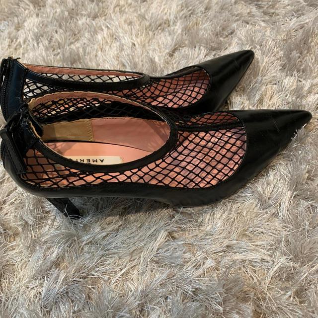 Ameri VINTAGE(アメリヴィンテージ)のshoheikamisama様 アメリヴィンテージ メッシュパンプス レディースの靴/シューズ(ハイヒール/パンプス)の商品写真