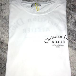 クリスチャンディオール(Christian Dior)のDior Homme ATELIER Tシャツ ホワイト M(Tシャツ/カットソー(半袖/袖なし))