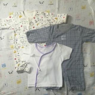 西松屋 - ベビー服と短肌着 3枚セット