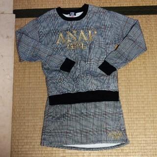 ANAP Kids - ANAP GIRL Mサイズ セットアップ スカート