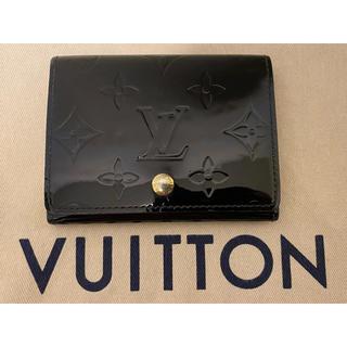 LOUIS VUITTON - ルイヴィトン  ヴェルニ 名刺入れ カードケース 財布 小銭 メンズ レディース